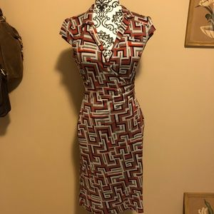 DVF Wrap dress Griffith style